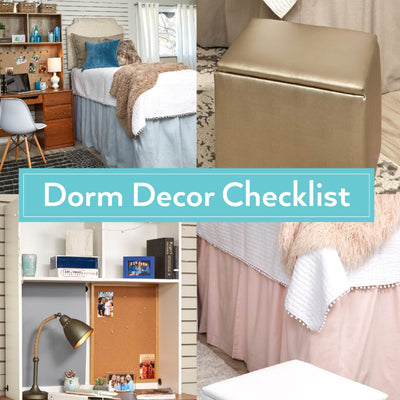Dorm Decor Checklist