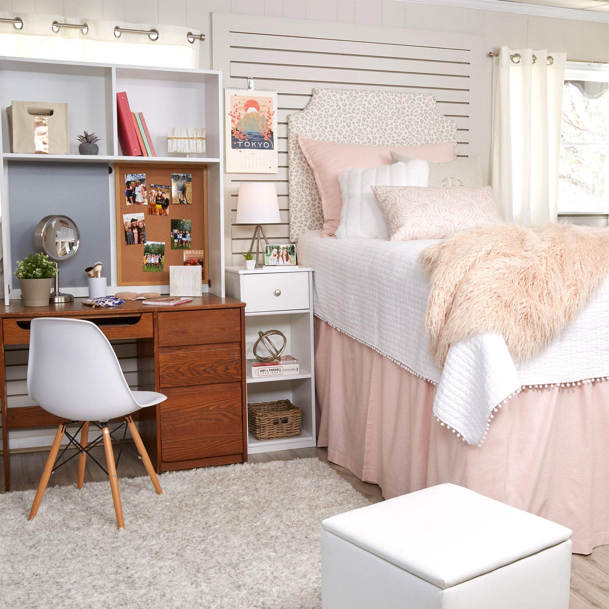the dorm room dorm decor. Black Bedroom Furniture Sets. Home Design Ideas