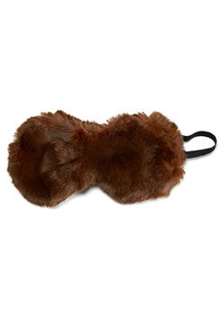 Fur Eye Mask - Sable