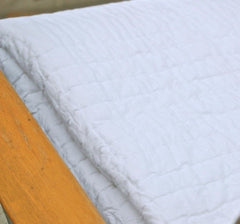 Ellie Twin XL Quilt - White