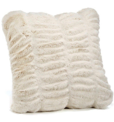 Ivory Mink Pillow