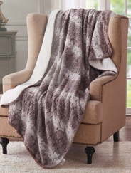 Sherpa Throw- Animal Print