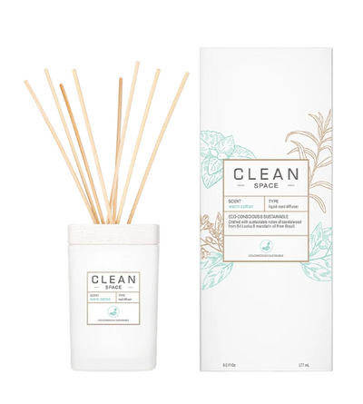 CLEAN Space Room Diffuser - Warm Cotton