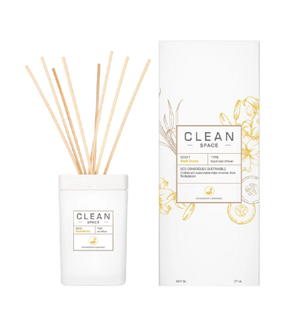 All new CLEAN Space Room Diffuser - Fresh Linen