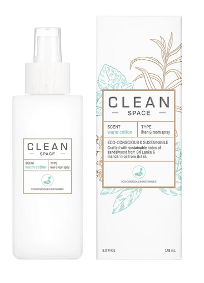 CLEAN Linen & Cotton Room Spray -Warm Cotton