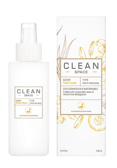 CLEAN Linen & Cotton Room Spray - Fresh Linen