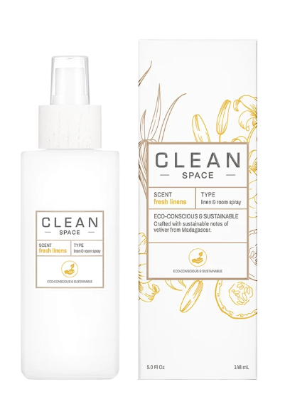 All new CLEAN Linen & Cotton Room Spray - Fresh Linen