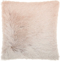 Ombre Shimmer Pillow - Rose