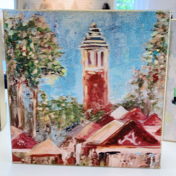 "Alabama Painting by Shannon Harris Art- 6"" x 6"""