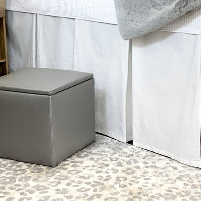Bed Skirt Panel- White