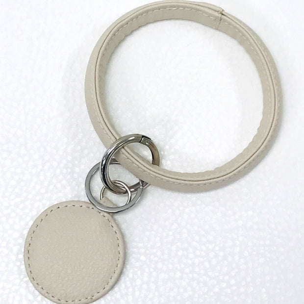 Big O Key Ring- Ivory