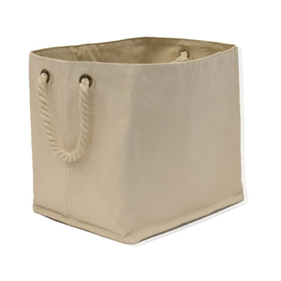 Canvas Storage Bin Medium