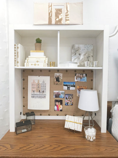 Desk Cubby - White