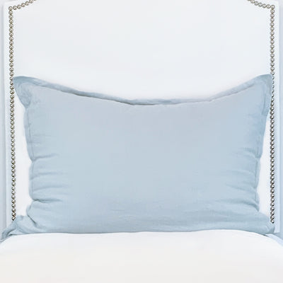 Huge Dutch Euro Pillow- Ice Blue