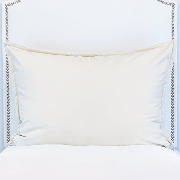 Huge Dutch Euro Pillow - Lunar Ivory