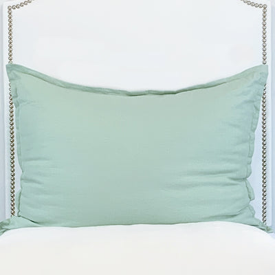 Huge Dutch Euro Pillow- Mint