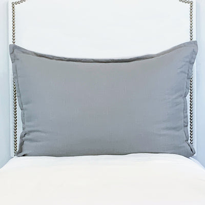 Huge Dutch Euro Pillow- Slate Gray