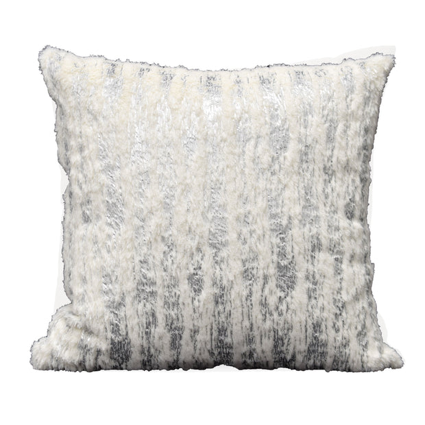 Fiona Silver Pillow