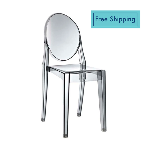 Ghost Chair - Clear Gray