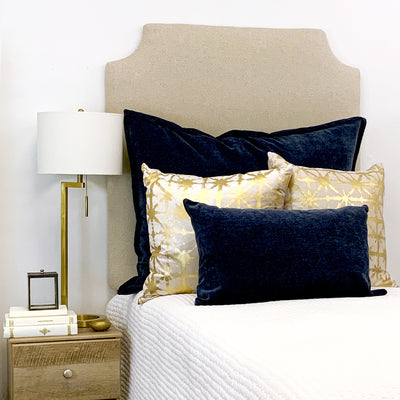 Headboard - Flax Oatmeal (Twin)