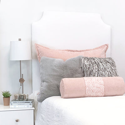 Headboard - Textured White (Twin)