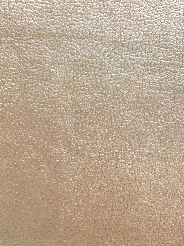 Fabric Swatch - Metallic Faux Leather