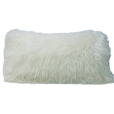 Lambswool Lumbar Pillow - Ivory