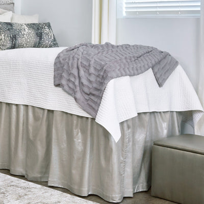 Deluxe Lush Throw - Gray