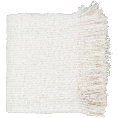 Fringe Throw Ivory