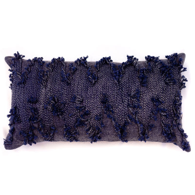 Navy Barrett Lumbar Pillow