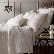 The Rachel Duvet - Antique White (Twin)