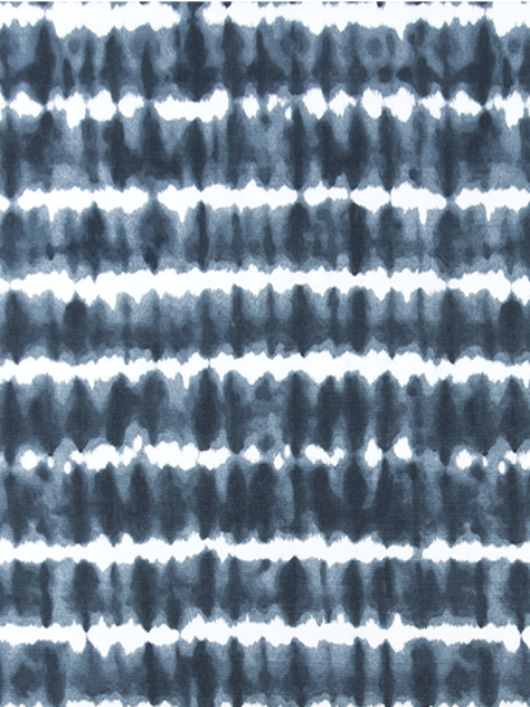Fabric Swatch - Banded Tie Dye Navy