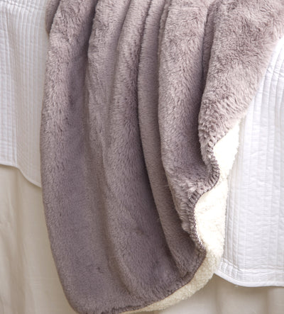 Sherpa Throw - Gray