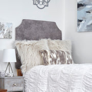 Headboard- Sierra Pewter