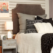 Headboard- Velvet Seal Gray