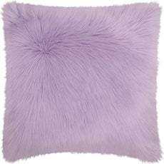 Violet Fur Pillow