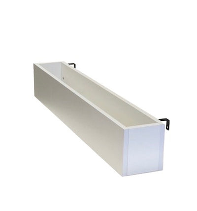 Bed Rail Cubby - White