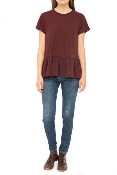 The Ruffle Tee. - THE GREAT. by Emily & Meritt
