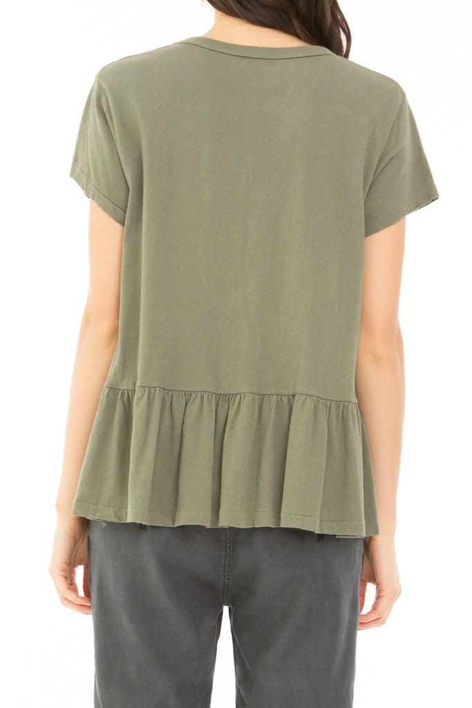 The Ruffle Tee.