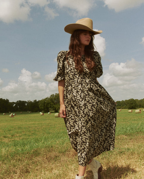 The Ravine Dress. -- COTTONWOOD FLORAL