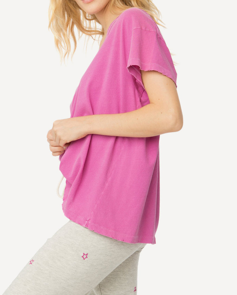 The U Neck Tee. -- Thistle