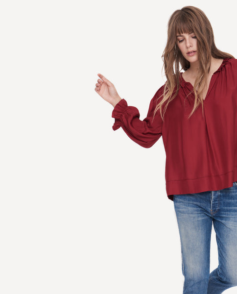 The Long Sleeve Story Top. -- Ruby