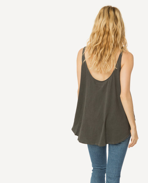 The Scoop Tank. -- Washed Black