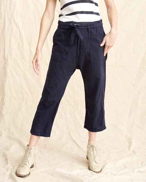 The Convertible Trouser. -- Navy