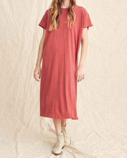 The Boxy Dress. -- Vintage Poppy Wash