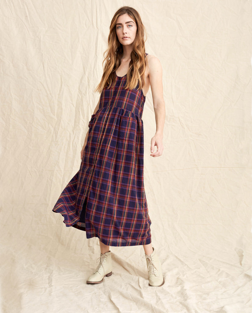 The Harvest Dress. -- Candy Plaid