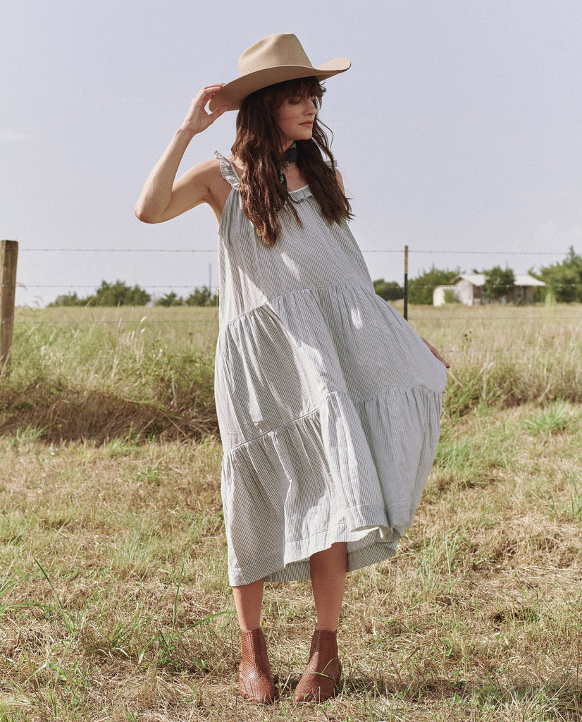 The Magnolia Dress. -- THE WESTERN STRIPE