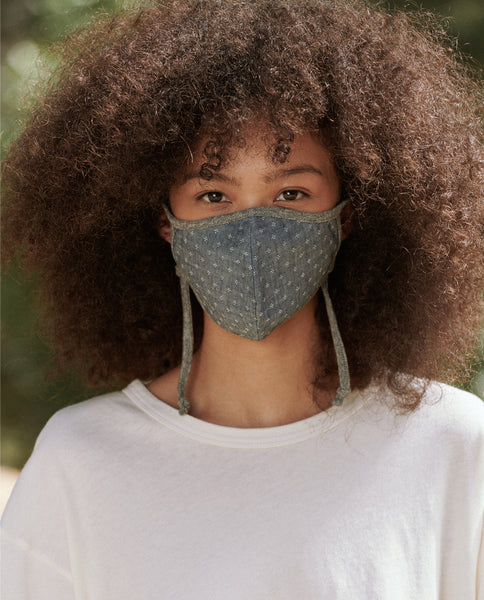 The Face Mask. -- Chambray Jacquard