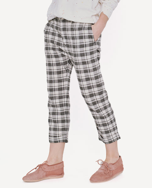 The Saddle Trouser. -- Windmill Plaid