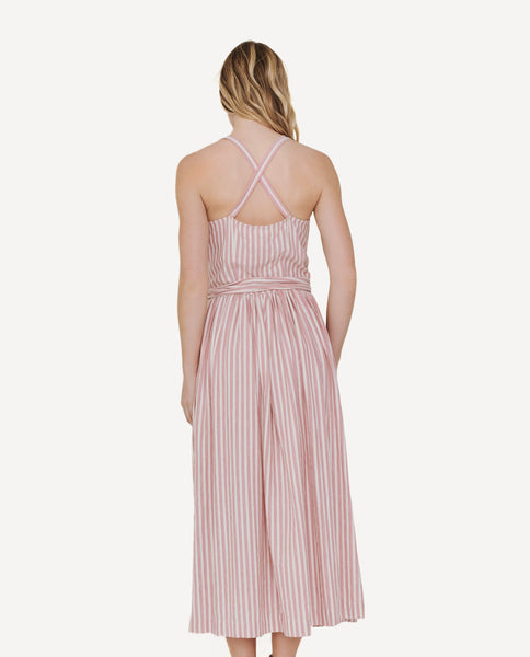 The Carriage Dress. -- Saffron Stripe